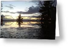 Heavens Reflection Greeting Card