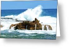 Heavy Seas Greeting Card