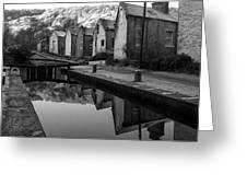 Rochdale Canal, Yorkshire, England Greeting Card