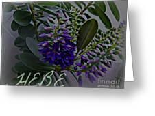 Hebe Artwork Greeting Card