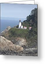 Heceta Head Lighthouse Li 9000 Greeting Card