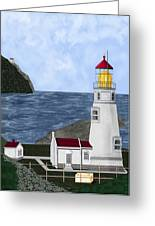 Heceta Head Oregon Greeting Card