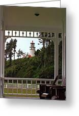 Heceta Lighthouse Greeting Card
