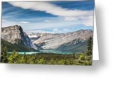 Hector Lake, Canadian Rockies Greeting Card