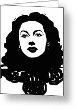 Hedy - Touching The Sublime Greeting Card