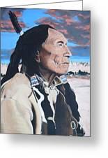 Hehaka Sapa Black Elk Greeting Card