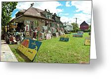 Heidelberg Street Panorama Greeting Card