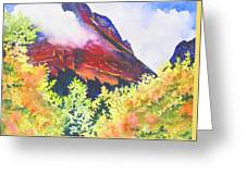 Heights Of Glacier Park Greeting Card