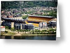 Heinz Field Pittsburgh Steelers Greeting Card