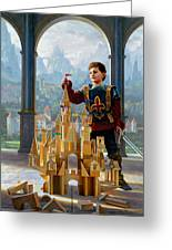 Heir To The Kingdom Greeting Card by Greg Olsen