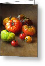 Heirloom Tomatoes Greeting Card