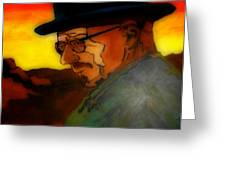 Heisenberg Crystallized Greeting Card