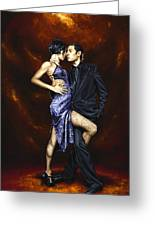Held In Tango Greeting Card