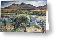Helderberg Clearmountain Cape Town South Africa Greeting Card
