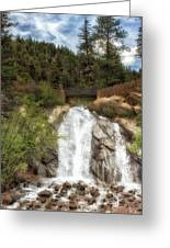 Helen Hunt Falls Greeting Card