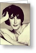 Helen Reddy, Singer Greeting Card