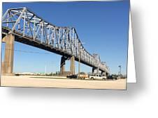 Helena Arkansas Bridge 2 Greeting Card