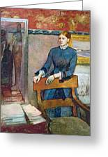 Helene Rouart Greeting Card by Edgar Degas