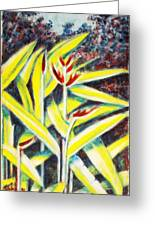 Heliconia 2 Greeting Card