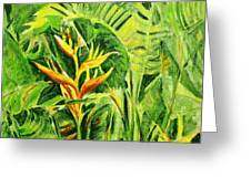 Heliconia 8 Greeting Card