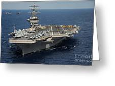 Helicopter's Approaches The Flight Deck Greeting Card