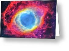 Helix Nebular Greeting Card