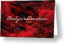 Hell Demon  Greeting Card