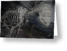Hellhound  Greeting Card
