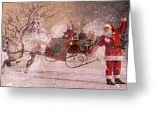 Hello Santa Greeting Card