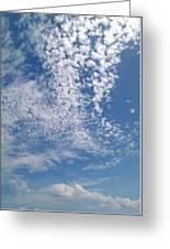Hello Sky Greeting Card
