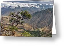 Hells Canyon Greeting Card