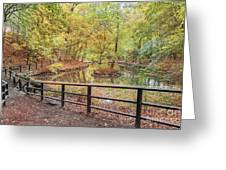 Helsingborg Jordbodalen Forest Path Greeting Card