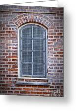 Helsingor Grilled Window Greeting Card
