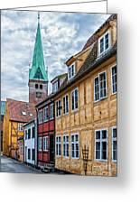 Helsingor Old Street Greeting Card