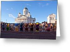 Helsinki Cathedral Greeting Card