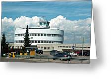 Helsinki - Malmi Airport Building Greeting Card