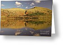 Helvellyn Mountain Reflections Greeting Card