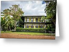 Hemingway House, Key West, Florida Greeting Card