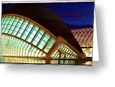 Hemispheric - Valencia Greeting Card