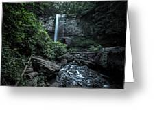 Hemlock Falls Greeting Card