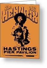 Hendrix 1967 Greeting Card