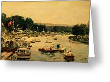 Henley Regatta Greeting Card