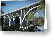Henley Street Bridge II Greeting Card