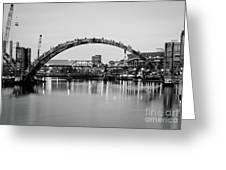 Henley Street Bridge Renovation 3 Greeting Card