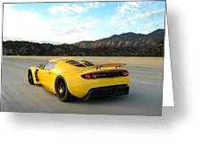 Hennessey Venom Gt Greeting Card