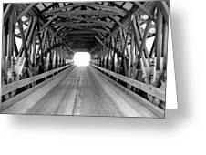 Henniker Covered Bridge Greeting Card
