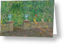 Henri Le Sidaner 1862 - 1939 The Pots Faience Greeting Card
