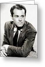 Henry Fonda, Hollywood Legend Greeting Card