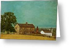 Henry House At Manassas Battlefield Park Greeting Card