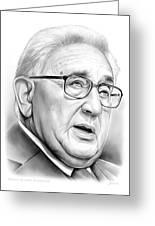 Henry Kissinger Greeting Card